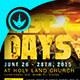 The Last Days: Church Flyer Template