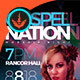 Gospel Nation Flyer and Ticket Template - GraphicRiver Item for Sale