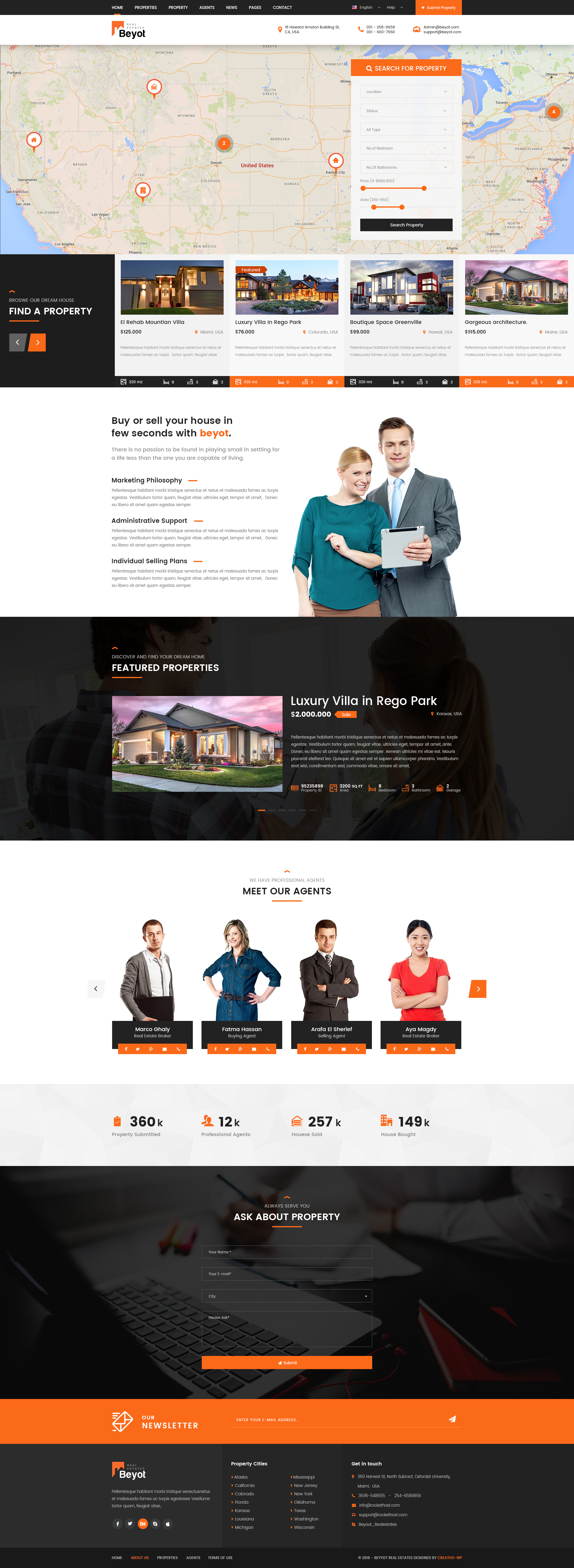 Beyot - Real Estate PSD Template by creative-wp | ThemeForest