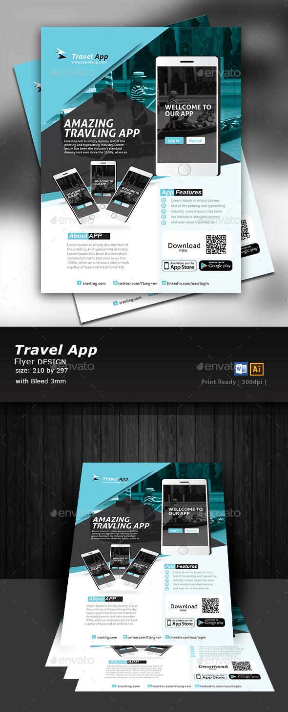 app flyer design by designcrew graphicriver