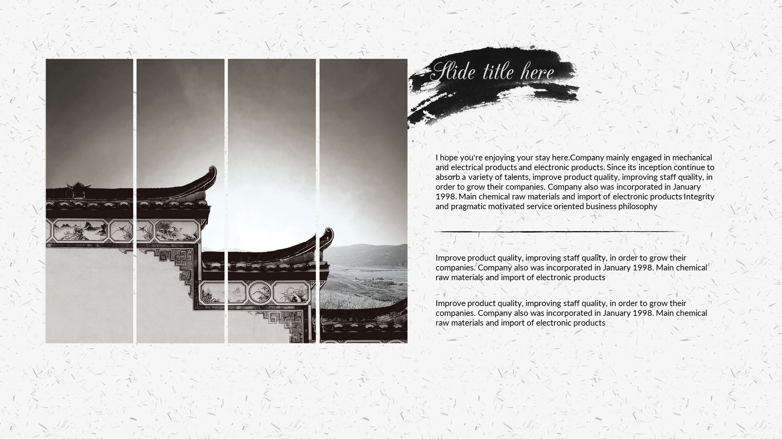 chinese style powerpoint presentation by 5yue graphicriver