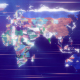 Political Map From Particles - VideoHive Item for Sale