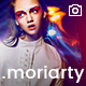 Fullscreen Photo WordPress Theme - Moriarty