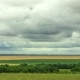 Movement of Clouds Over the Fields  - VideoHive Item for Sale