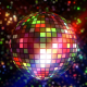 Neon Disco Ball VJ Loop - VideoHive Item for Sale