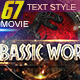 67 Movie Text Style Bundle - GraphicRiver Item for Sale