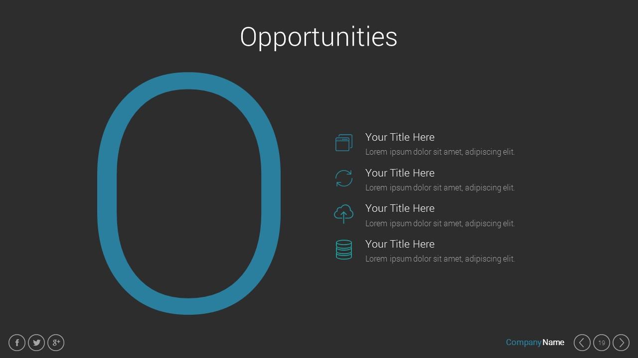 Marketing Pitch Deck Google Slides Presentation Template by Spriteit