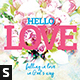 Hello Love Church Flyer - GraphicRiver Item for Sale