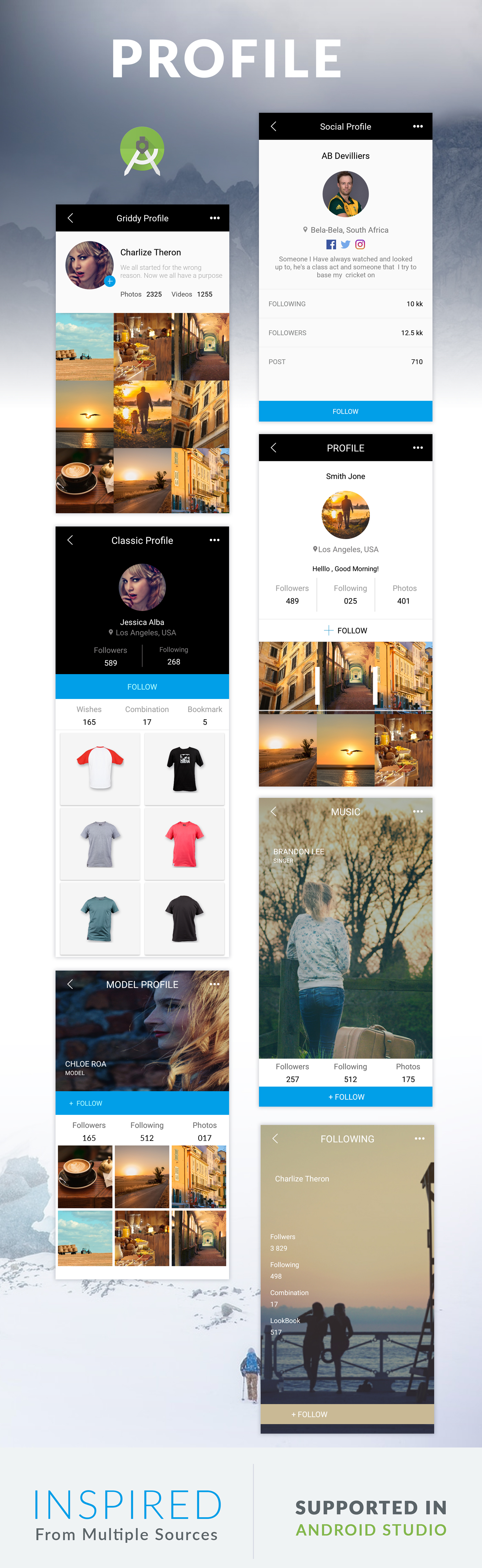 BEANS UI KIT - Android App template