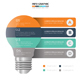 Minimal Lightbulb infographic Design - GraphicRiver Item for Sale