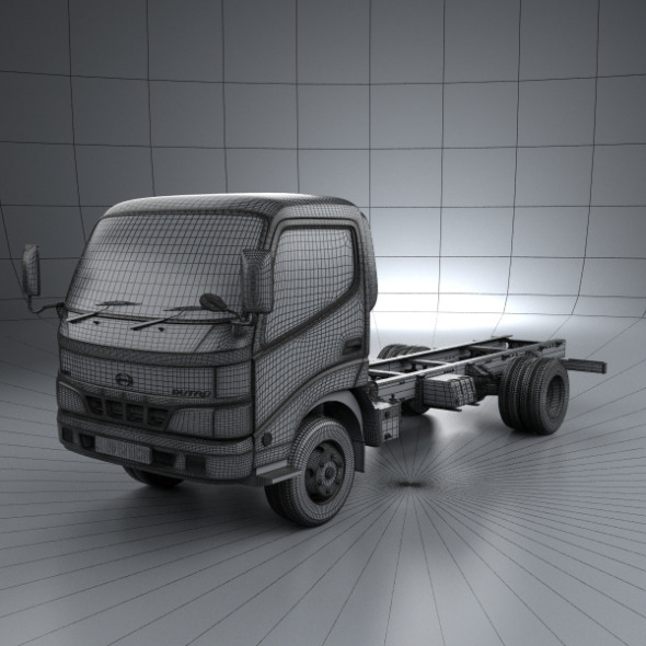 Hino Dutro StandardCab Chassis 2010