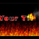 Burning Title - VideoHive Item for Sale