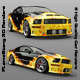 Flame Stang 3D Renders - GraphicRiver Item for Sale