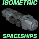 Isometric Spaceship Sprites - GraphicRiver Item for Sale
