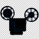 16MM Film Projector - 2D Outline - VideoHive Item for Sale
