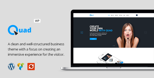 Quad - Modern Business WordPress Theme