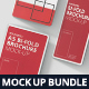Bi-Fold Brochure Mock-Up Bundle - Round Corner - GraphicRiver Item for Sale