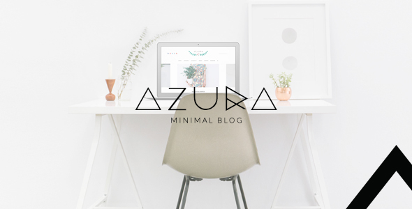 Azura – Clean & Minimal Blog WordPress