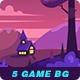 5 Game Seamless Backgrounds - GraphicRiver Item for Sale