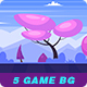 5 Game Seamless Backgrounds #2 - GraphicRiver Item for Sale