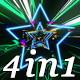 Glitch Beat - VJ Loop Pack (4in1) - VideoHive Item for Sale