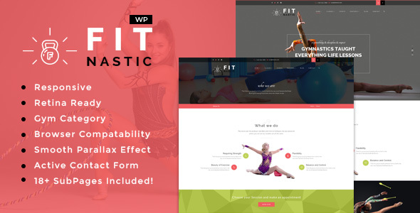 Fitnastic | Sports, Health, Gym & Fitness WordPress Theme