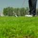Man Scored The Ball Into The Hole In Golf - VideoHive Item for Sale