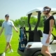 Young Couple Go To Play Golf - VideoHive Item for Sale