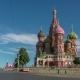 St Basils Cathedral On Red Square In Moscow  - VideoHive Item for Sale