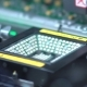 Production Of Printed Circut Board. Manufacture Of Electronic Chips. - VideoHive Item for Sale
