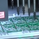 Producing Printed Circut Board. Manufacture Of Electronic Chips. - VideoHive Item for Sale