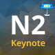 N2 Multipurpose Keynote Presentation Template - GraphicRiver Item for Sale