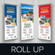 Travel Roll Up Banner Signage Design - GraphicRiver Item for Sale