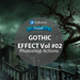 Gothic Effect Photoshop Action V02 - GraphicRiver Item for Sale