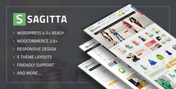 VG Sagitta – Mega Store Responsive WordPress Theme