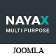 Nayax - Multipurpose Creative & Modern VirtueMart Joomla Template