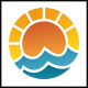 Ocean Sun Logo - GraphicRiver Item for Sale