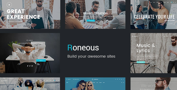 Roneous – Creative Multi-Purpose WordPress Theme