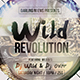 Wild Revolution Flyer - GraphicRiver Item for Sale