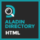 Aladin Directory HTML Template - ThemeForest Item for Sale