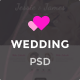 Themenum – Creative PSD Template for Wedding, Events, Wedding Planner and Couple Nulled