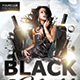 Black Night Party Flyer - GraphicRiver Item for Sale