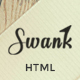 Swank - Creative One Page with Blog template - ThemeForest Item for Sale