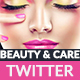 Beauty & Care Twitter Header - GraphicRiver Item for Sale