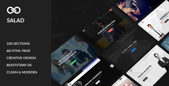 Salad – Multipurpose HTML Template