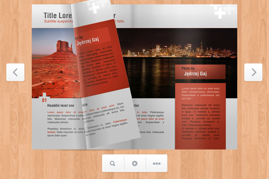 Responsive Flipbook Jquery By Mpc Codecanyon