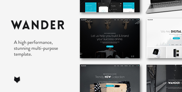 Wander | The Multi-Purpose WordPress Theme