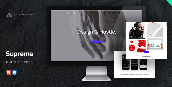Supreme – Multi-Purpose HTML Template
