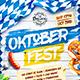 Oktoberfest Festival Poster vol.5 - GraphicRiver Item for Sale