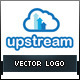 Upstream Online File Storage Logo - GraphicRiver Item for Sale